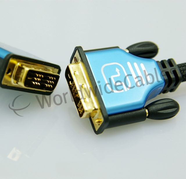 VGA cable, DVI cable, DisplayPort cable, automotive cables, medical cables, specified cables
